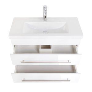 quelle hauteur de meuble salle de bain pour poser une vasque cdiscount. Black Bedroom Furniture Sets. Home Design Ideas