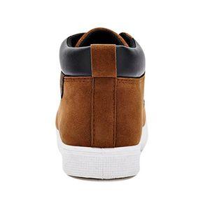 Chaussures En Toile Hommes Basses Quatre Saisons Casual DTG-XZ116Noir41 O4DBjY95