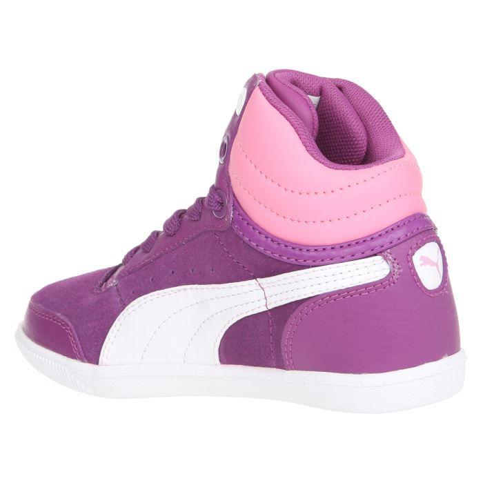 PUMA Baskets Court - Enfant Fille - Mauve d1JY06VSG