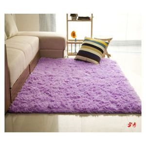 TAPIS Tapis de salon Shaggy 160x230 cm Violet
