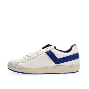 BASKET PONY SNEAKERS Homme WHITE BLUE, 44
