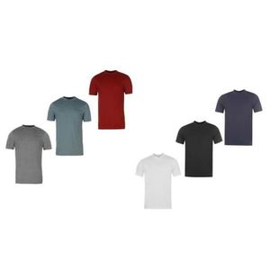 T-SHIRT Lot de 6 T-Shirts Anglais Grandes tailles Homme Do 7cf681915e5