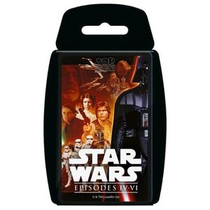CARTE A COLLECTIONNER Top Trumps - Star Wars Episodes 4-6