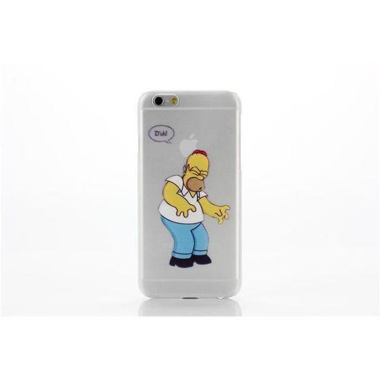 iphone 6 coque transparente dessin