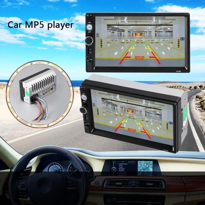 LECTEUR MULTIMÉDIA 1080P 7'' Bluetooth Car Stereo USB/TF/FM Autoradio