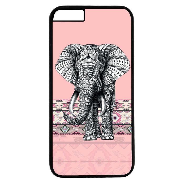 coque iphone 7 elephant rose