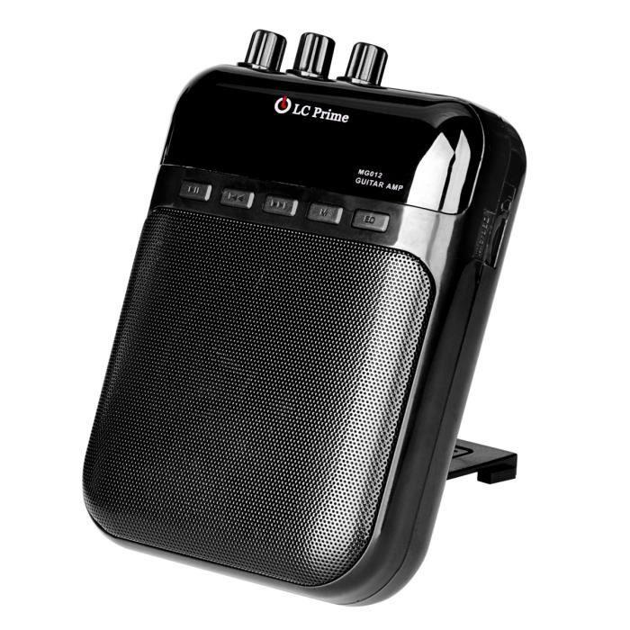 guitare ampli mini portable clip amplificateur enregistreur 2 en 1 chargeable w tf carte slot. Black Bedroom Furniture Sets. Home Design Ideas