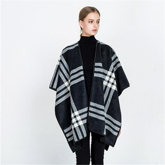 1PCS Femme Poncho Manteau veste Cape manteau écharpe Poncho - Achat ... 39e7e1b5829