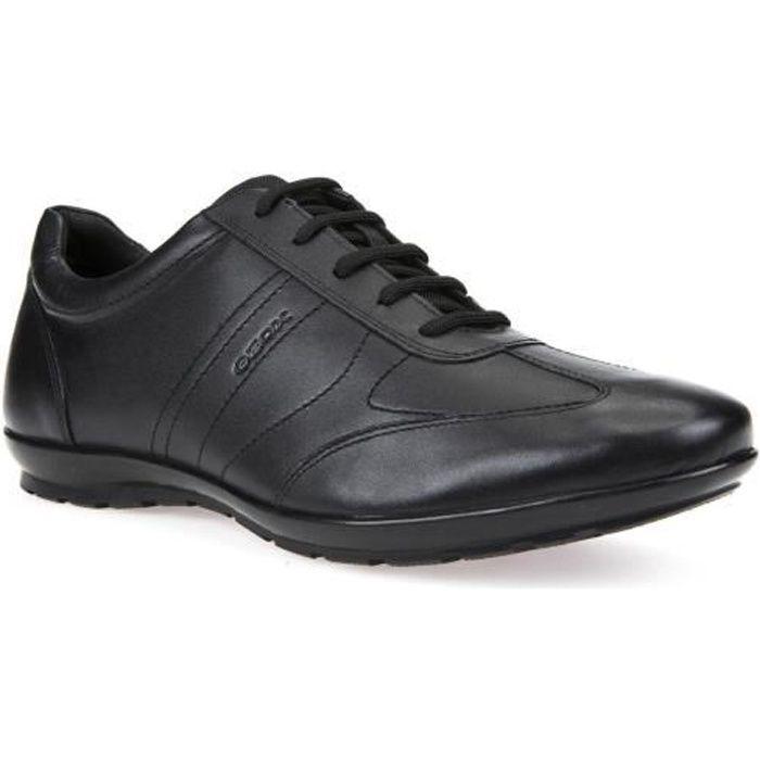 Geox C9999 U U74a5b Noir Hommes Symbol A Sneaker 00043 FFwCrq1