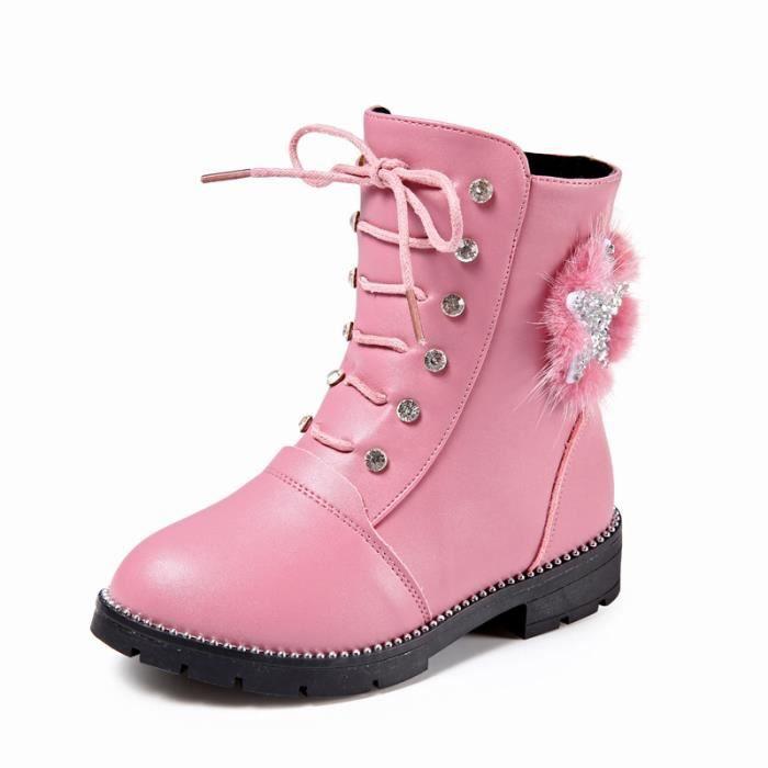 filles bottine Chaussures Enfants Mode Bébé qpt55