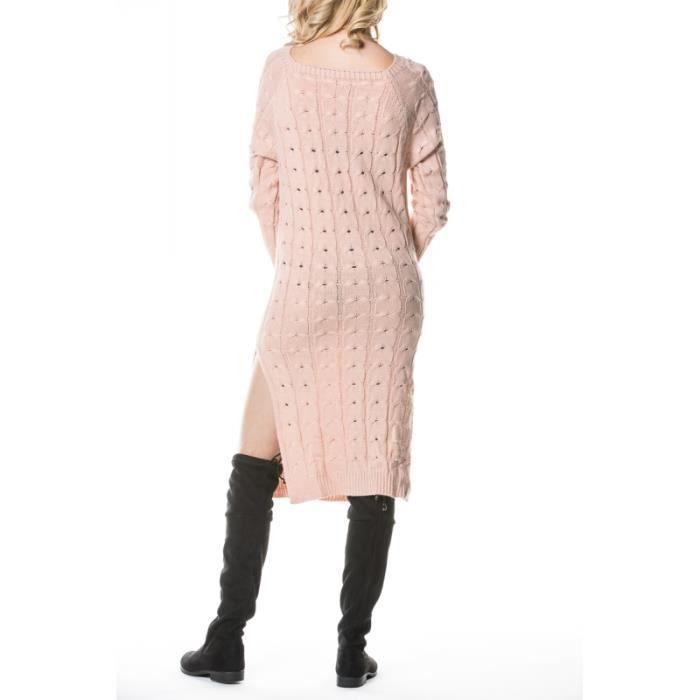 ROSE 9101 Robe pull poches77777717C à 17 44 ROSE ZIAvq0