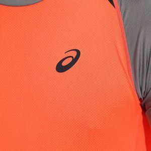 asics t shirt femme orange