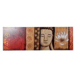 TABLEAU - TOILE Tableau déco Zen  6 -  Toile peinte à la main  -