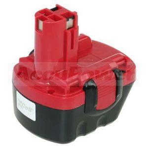 BATTERIE MACHINE OUTIL Batterie pour Bosch GSR 12 VE-2, GSB 12 VE-2, 2000