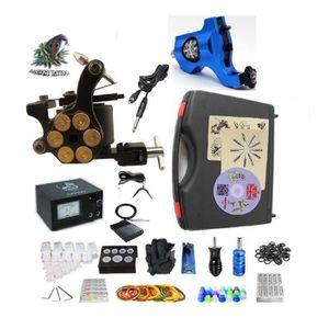 KIT TATOUAGE Kit complet de tatouage G2Z1R1 2 machines rotative