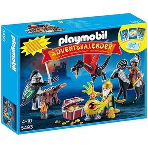 Calendrier de l'avent Playmobil - 5493 - Calendriers De L'avent - Trésor