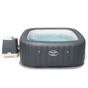 SPA COMPLET - KIT SPA BESTWAY Spa Carré Hawaii Hydrojet Pro - 6 places -