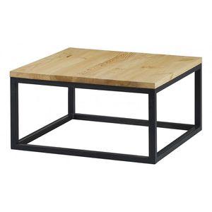 table basse table basse carre 80 cm city couleurs des alpes
