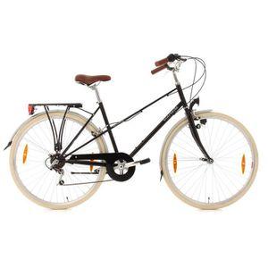 VÉLO DE VILLE - PLAGE Vélo de ville femme 28'' Marseille noir TC 48 cm K