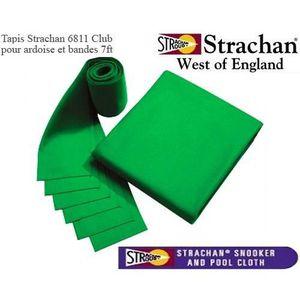 ACCESSOIRE BILLARD Tapis 6811 Strachan Pré Découpé 7ft vert
