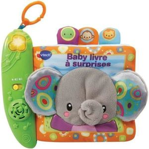 LIVRE D'ÉVEIL VTECH BABY - Livre à Surprises