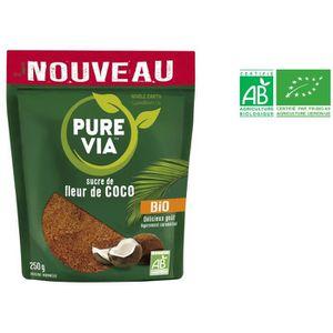 SUCRE - FAUX SUCRE PURE VIA Sucre de fleur de coco bio - 250 g