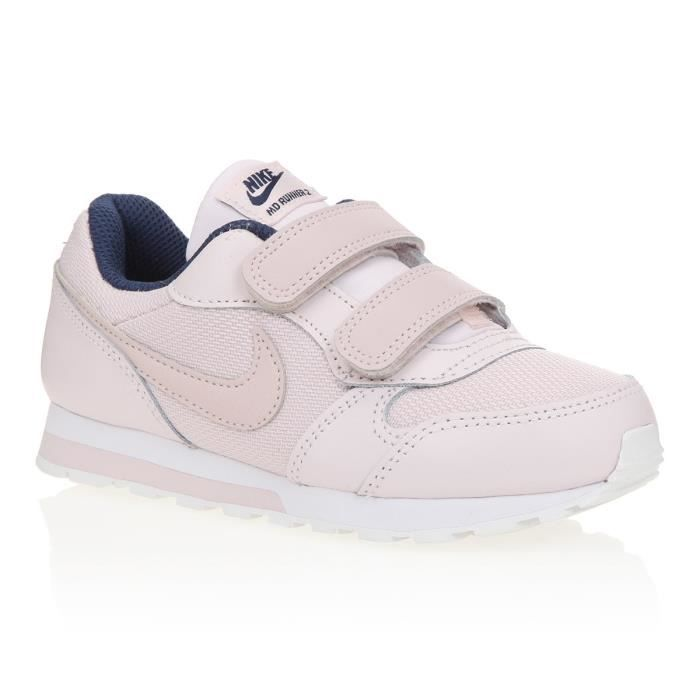 f90ee70ad17bf NIKE Sneakers MD Runner - Enfant Fille - Rose poudre Rose poudre ...