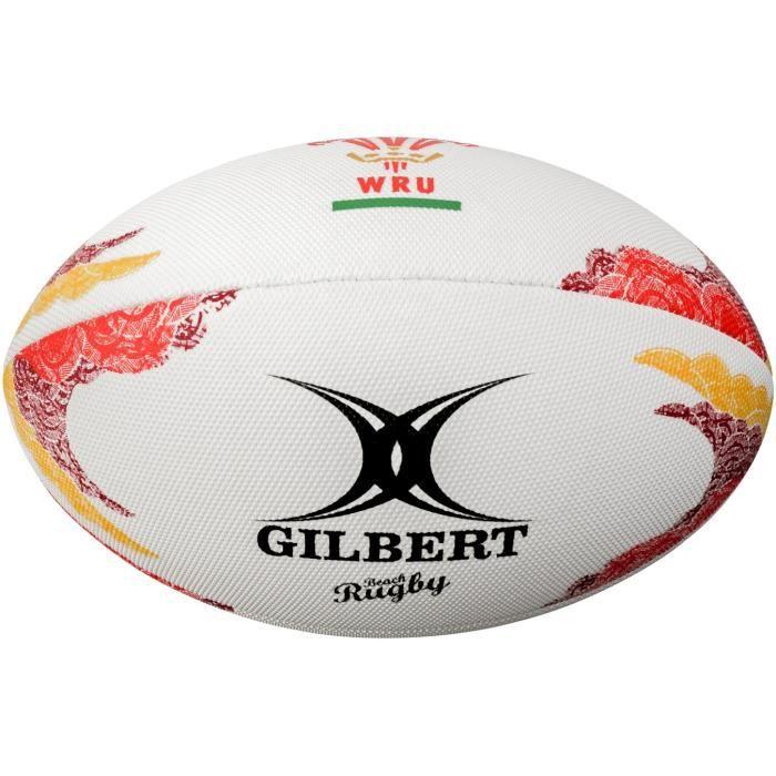 GILBERT Ballon de Beach rugby - Pays de Galles - Taille 4
