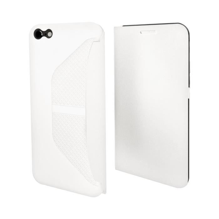 MUVIT Etui Easy Folio Blanc Pour Apple Iphone 6+-6s+