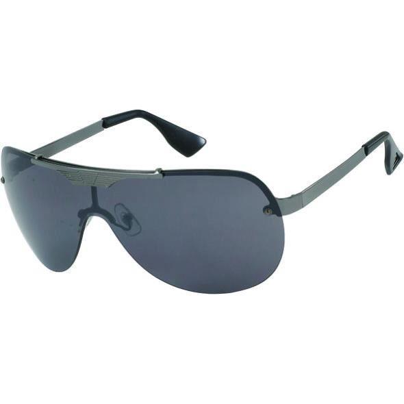 Lunettes de soleil Clubbing - 6429 9306 - Monture gun, branches noires