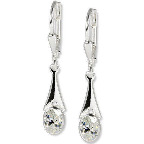 . Silber. Dream. SDO514W. Boucles doreilles pendantes. Femme. Argent 925/1000.…