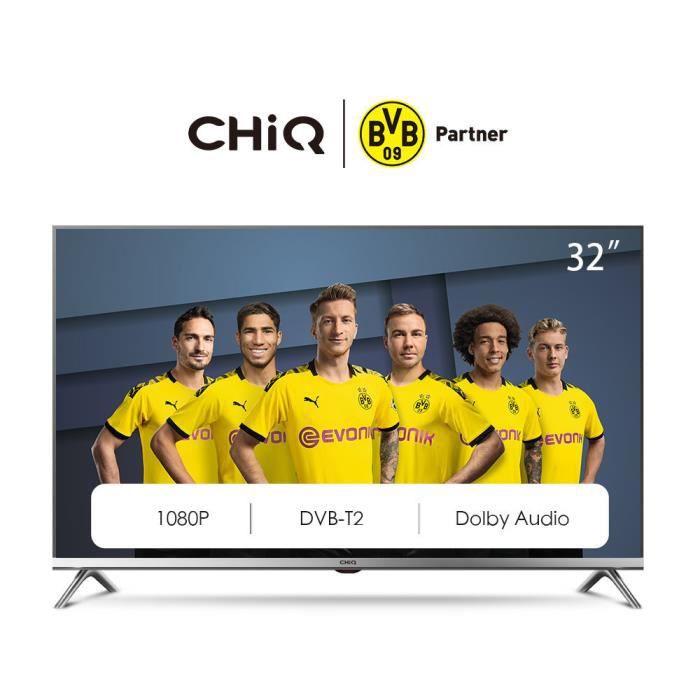 Téléviseur LED CHiQ L32D5T TV 32'' Full HD 1920x1080, LEDTV, trip