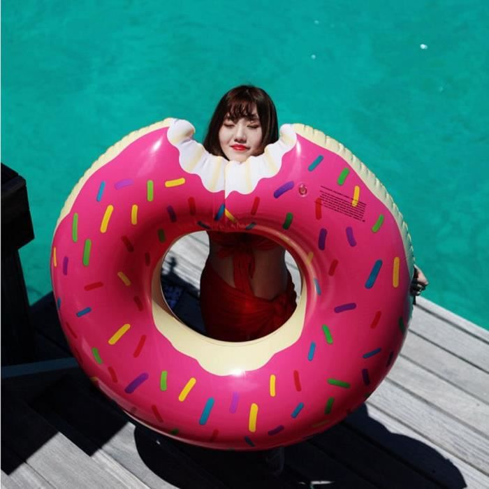 Gonflable bou e g ant fun bite forme donut piscine eau for Piscine 3 05 x 0 76