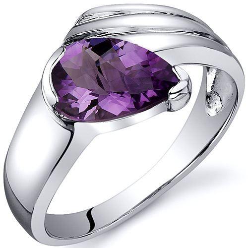 bague argent am thyste violet achat vente bague anneau revoni bague femme adulte. Black Bedroom Furniture Sets. Home Design Ideas