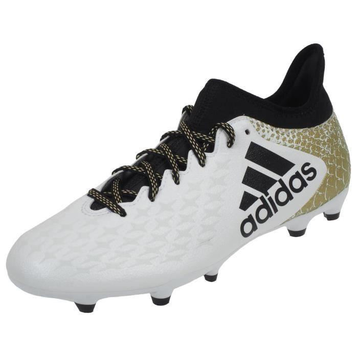 in stock 90c8e b99b5 CHAUSSURES DE FOOTBALL Chaussures football lamelles X16.3 fxg h blc - Adi