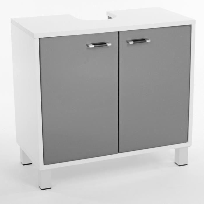 meuble sous lavabo gris achat vente meuble sous lavabo gris pas cher soldes d s le 10. Black Bedroom Furniture Sets. Home Design Ideas