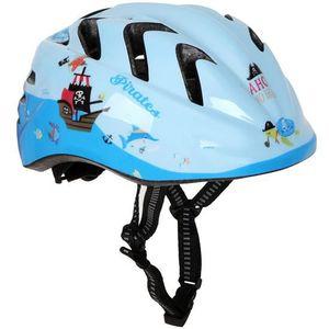afbfc2c452aed ... CASQUE DE VÉLO Casque à vélo pour enfant - bleu (design Pirates) ...