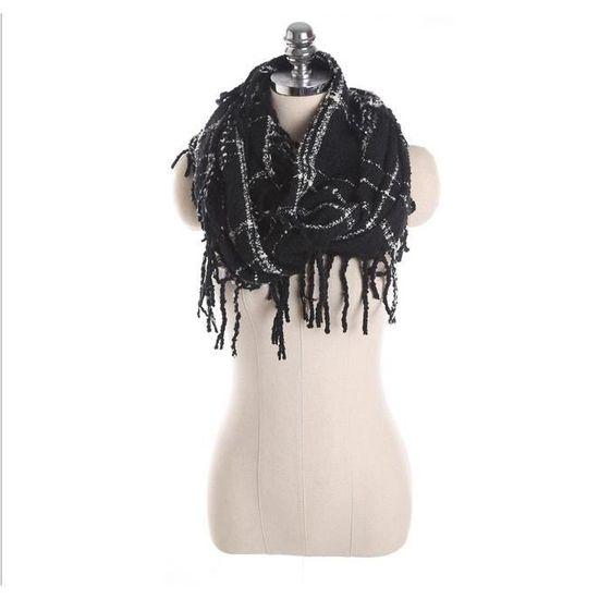 1pcs Echarpe Tube Femme - Col Snood - Achat   Vente echarpe - foulard  2009642634305 - Soldes  dès le 9 janvier ! Cdiscount fb49ed02af5