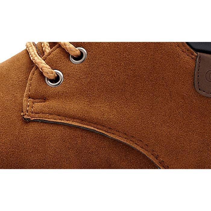Chaussures En Toile Hommes Basses Quatre Saisons Casual JXG-XZ116Jaune44 u81ovpa