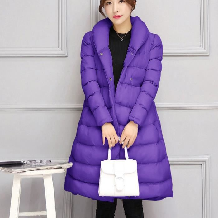 Parka Chaud We1430 Thicker Hiver Outwear Femmes Ceinture Veste Manteau Mode Coton 0R4TwnxTq