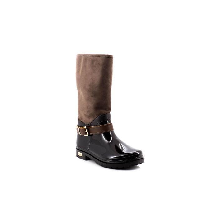 bottes s en caoutchouc brun foncé BW L902mp6w