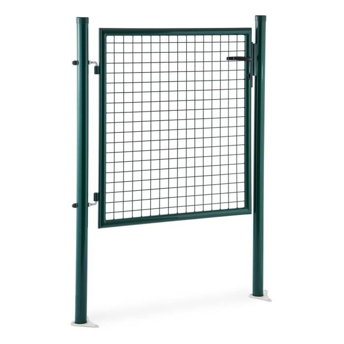 Waldbeck duraporta portail de jardin portillon de cl ture grillage maille m tallique acier - Portail de jardin ...