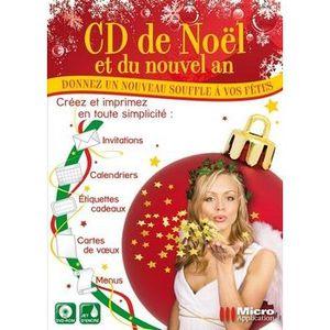 MULTIMÉDIA CD de Noël et du Nouvel An / Logiciel de création
