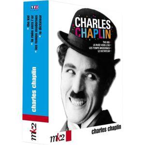 DVD FILM DVD Coffret Charlot, le meilleur : le dictateur...