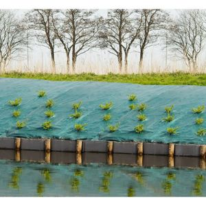Toile de paillage paysages - vert 90 gr/m? - 2x5m