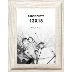 CADRE PHOTO Cadre photo Relieve en Mdf - 13x18 cm -  Moulure 2