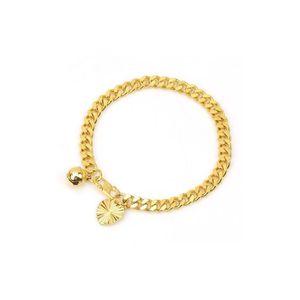 BRACELET - GOURMETTE Bracelet bébé plaqué or jaune 18 carats