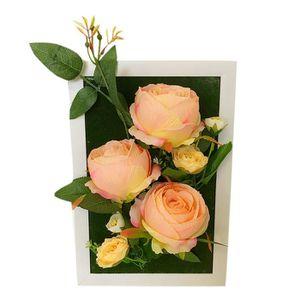 cadre fleurs artificielles - achat / vente cadre fleurs