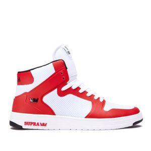 BASKET Chaussures SUPRA VAIDER 2.0 White red