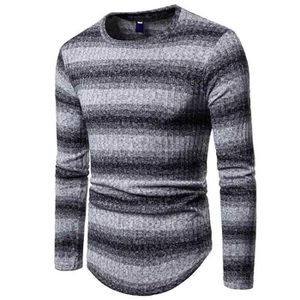 PULL Pull homme de Marque col rond rayure pull coupe sl 005dc63052b